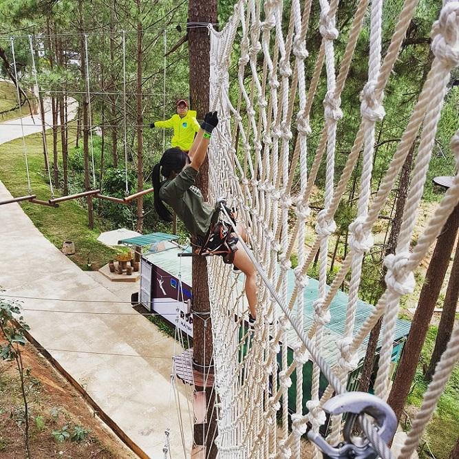Datanla High rope course adventure in Da Lat