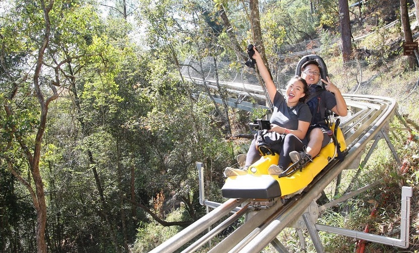 New alpine coaster Datanla, Dalat