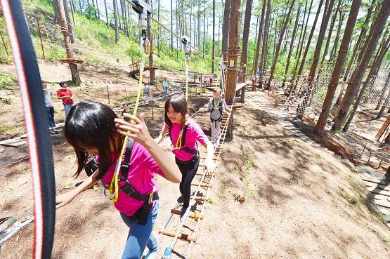 High Rope Course Adventure in Da Lat