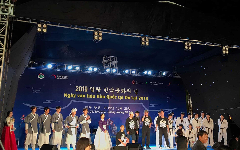 Vietnam - Korea culture day in dalat 2019