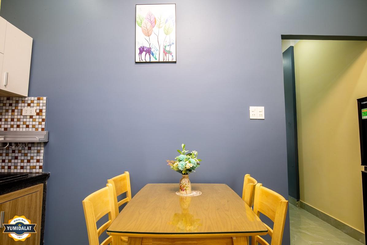 Apartment 1 bedroom, 1 working room [at 1st floor]